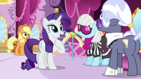 Rarity -Miss Pommel is showing-- S7E9