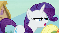 Rarity -doesn't feel so good, does it-- S7E9