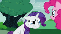 Rarity breaking down in tears S7E9