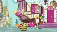 """Spike """"how long will it take you"""" S9E23"""