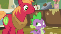 Spike -interested in what she cares about- S8E10