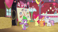 Spike -where are you goin'-- S8E10