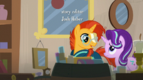 Sunburst and Starlight enter the antique shop S7E24