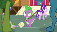Thorax and Ember appear before Spike S7E15