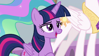 "Twilight ""saving Equestria is nice"" S8E26"