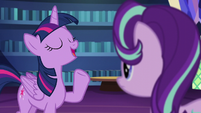 Twilight --not one to dwell on the past-- S6E1