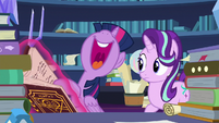 "Twilight Sparkle ""do the banishing spell herself!"" S7E26"