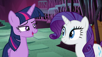 "Twilight Sparkle ""if Rarity pitches in"" S8E26"
