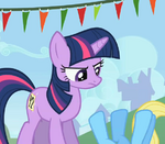 Twilight frustrated by Rainbow Dash S1E13
