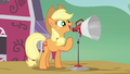 Applejack 'real big day planned for ya!' S3E08.png