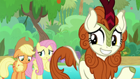 Applejack and Autumn Blaze dejected S8E23