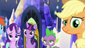 Applejack giving Rarity a weird look S6E12.png