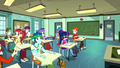 Canterlot High students in a classroom SS8.png