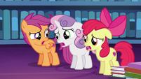 Cutie Mark Crusaders discouraged --right...-- S6E19