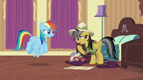 Daring Do --just keep your eyes out-- S6E13