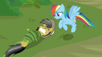 Daring Do stuck in jungle vines S9E21
