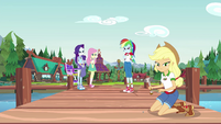 Equestria Girls afraid to use their powers EG4