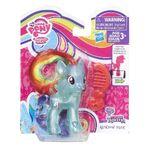 Explore Equestria Rainbow Dash translucent doll packaging
