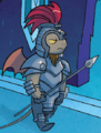 FIENDship is Magic issue 2 gargoyle guard.png