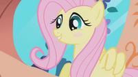 Fluttershy blushes S1E03