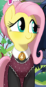 Friends Forever issue 10 American Gothic Fluttershy