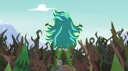 Gloriosa Daisy standing atop the camp sundial EG4
