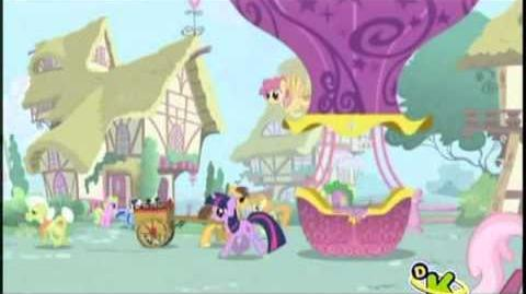 La apertura de la serie de My Little Pony - La magia de la amistad
