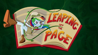 Leaping Off the Page title card SS12