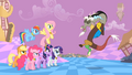 Main ponies Discord Mocking S2E2.png