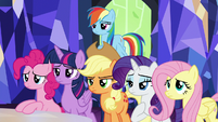 Mane Six not amused S5E22
