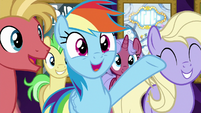 "Rainbow ""Goldie's totally got game!"" S8E5"