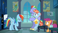 Rainbow Dash catching her breath S7E7