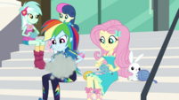 Rainbow Dash knitting at high speed EGDS4