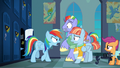 Rainbow Dash shouting at her parents S7E7.png