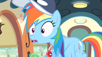 Rainbow surprised S4E05