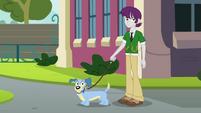 Rapaz e seu cão EG