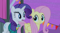 Rarity 'Are you sure you're up for it' S4E14
