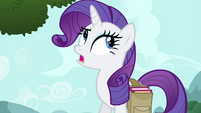 Rarity scoffing -what does a bird know- S4E23