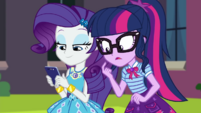 Rarity sending a text to Timber Spruce CYOE3a