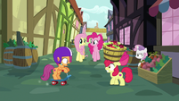 Scootaloo and Apple Bloom slowly crashing S8E12