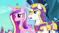 "Shining Armor ""we can explain, Twily"" S6E16"