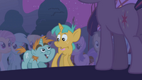 Snips and Snails looking at each other S1E06