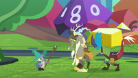 Spike impressed by Discord's empathy S8E10