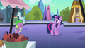 Spike running up to Twilight S3E2.png