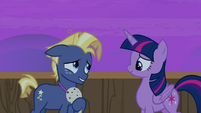 Star Tracker glad he met Twilight Sparkle S7E22