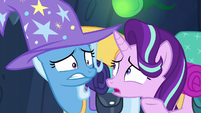 Starlight Glimmer --sneezing if he wanted to-- S6E26