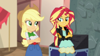 Sunset Shimmer smirking amused EGS2