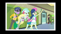 Sweetie Drops takes a selfie with Lyra, Derpy and Micro Chips EG3.png