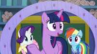 "Twilight ""being friends is so important to them"" S8E17"
