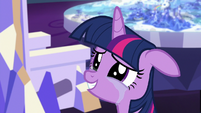 Twilight Sparkle getting teary-eyed S7E1